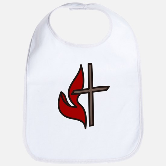 Cross And Flame Bib