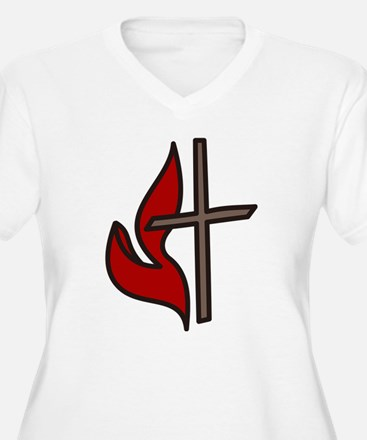 Cross And Flame T-Shirt