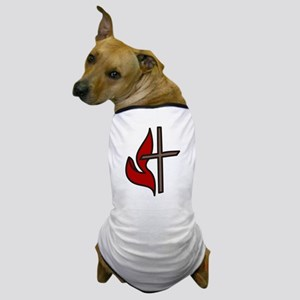 Cross And Flame Dog T-Shirt