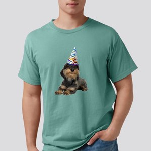Wirehaired Dachshund Party Mens Comfort Colors Shi
