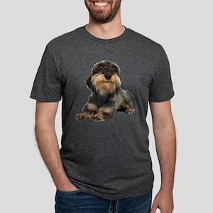 FIN-wirehaired-dachshund-photo-CROP Mens Tri-b