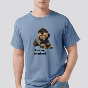 FIN-wirehaired-dachshund-love Mens Comfort Col
