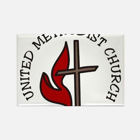 United Methodist Church Rectangle Magnet