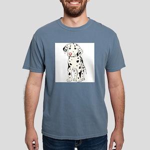 dalmatian-puppy Mens Comfort Colors Shirt