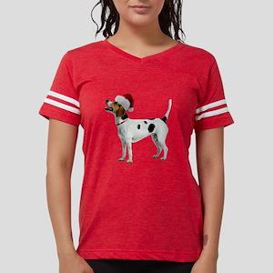 FIN-english-foxhound-santa-CROP Womens Footbal