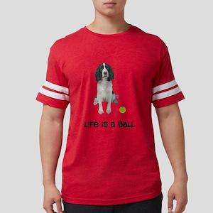 Springer Spaniel Life Mens Football Shirt