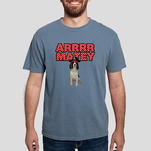 Pirate Springer Spaniel Mens Comfort Colors Shirt