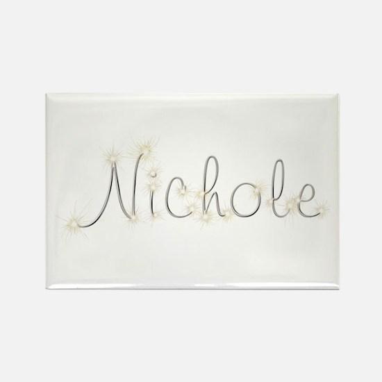 Nichole Spark Rectangle Magnet