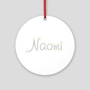 Naomi Spark Round Ornament
