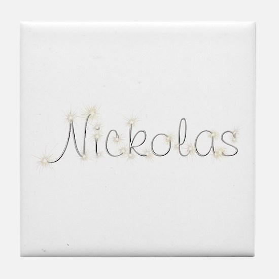 Nickolas Spark Tile Coaster