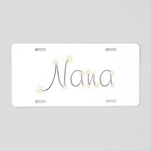 Nana Spark Aluminum License Plate