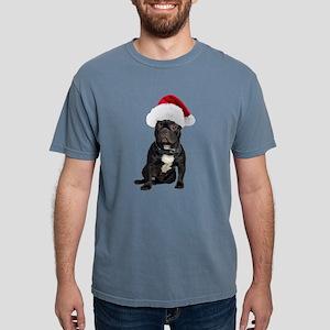 FIN-french-bulldog-santa Mens Comfort Colors S