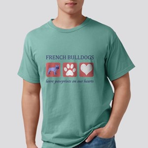 FIN-french-bulldog-pawprints Mens Comfort Colo