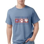 FIN-french-bulldog-pawprints.png Mens Comfort Colo