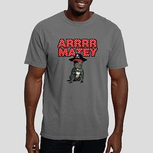 Pirate French Bulldog Mens Comfort Colors Shirt