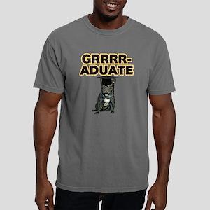 Graduation French Bulldog Mens Comfort Colors Shir