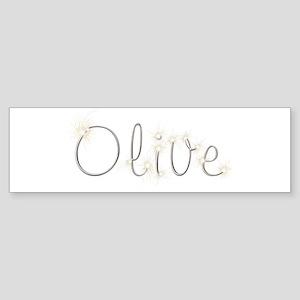 Olive Spark Bumper Sticker