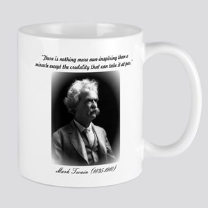 """Mark Twain quote - """"There is nothing more awe-insp"""