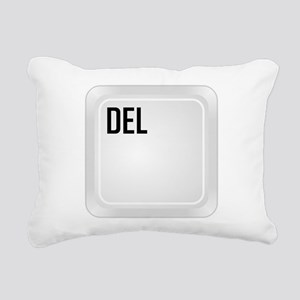 DEL (corner) Rectangular Canvas Pillow