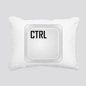 CTRL (corner) Rectangular Canvas Pillow