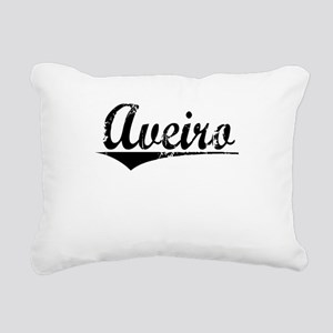 Aveiro, Aged, Rectangular Canvas Pillow