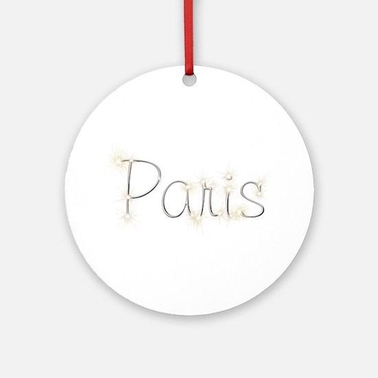 Paris Spark Round Ornament