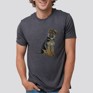 FIN-german-shepherd-puppy-photo Mens Tri-blend