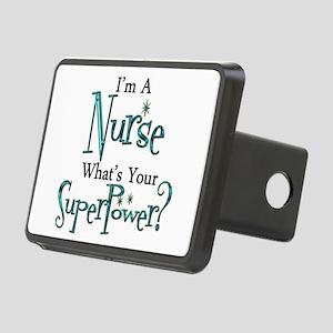 Super Nurse Rectangular Hitch Cover