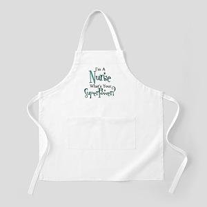 Super Nurse Apron