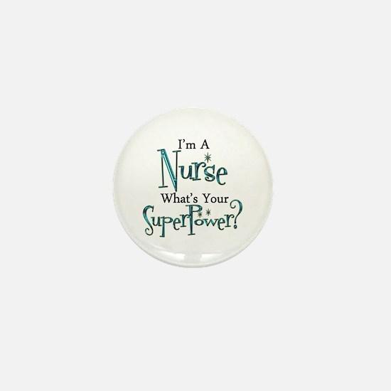 Super Nurse Mini Button