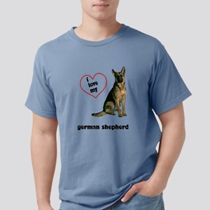 FIN-german-shepherd-love Mens Comfort Colors S