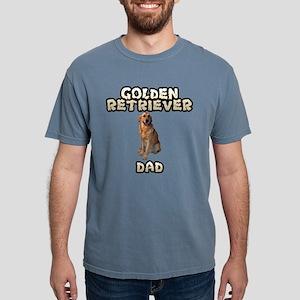 Golden Retriever Dad Mens Comfort Colors Shirt
