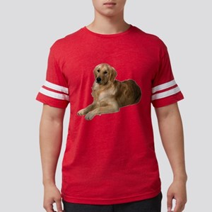 2-FIN-golden-retriever-photo-CROP Mens Footbal