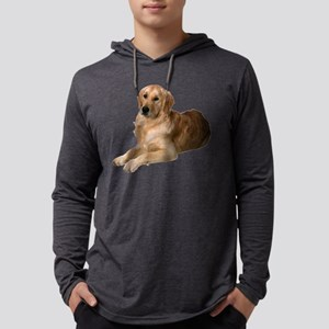 2-FIN-golden-retriever-photo-CROP Mens Hooded