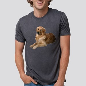 2-FIN-golden-retriever-photo-CROP Mens Tri-ble