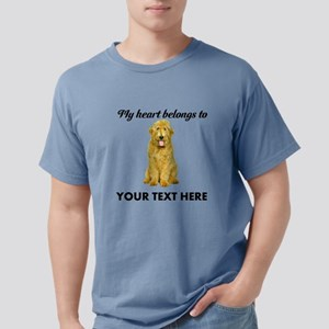 Personalized Goldendoodle Mens Comfort Colors Shir