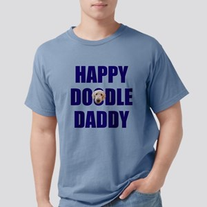 Happy Doodle Daddy Mens Comfort Colors Shirt