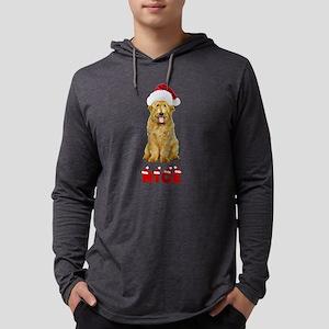 Nice Goldendoodle Mens Hooded Shirt
