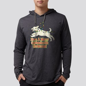 FIN-merry-goldendoodle-christmas Mens Hooded S