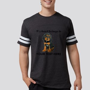 Custom Gordon Setter Mens Football Shirt