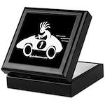 Kokopelli Race Car Driver Keepsake Box