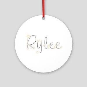 Rylee Spark Round Ornament