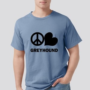 FIN-peace-love-greyhound Mens Comfort Colors S