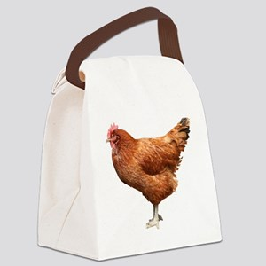 Red Hen Canvas Lunch Bag