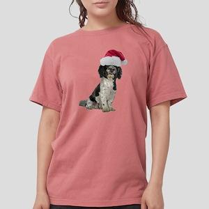 FIN-santa-havanese Womens Comfort Colors Shirt