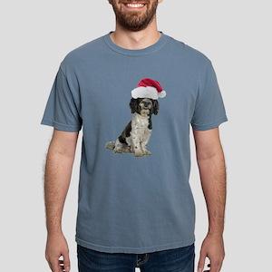 FIN-santa-havanese Mens Comfort Colors Shirt