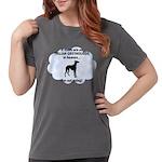 FIN-italian-greyhou... Womens Comfort Colors Shirt