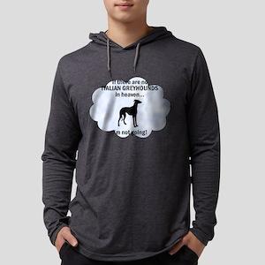 FIN-italian-greyhou... Mens Hooded Shirt