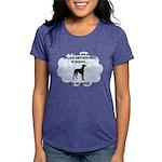 FIN-italian-greyhou... Womens Tri-blend T-Shirt