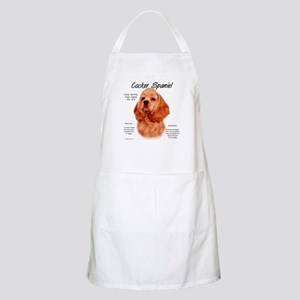 Cocker Spaniel (red) Light Apron